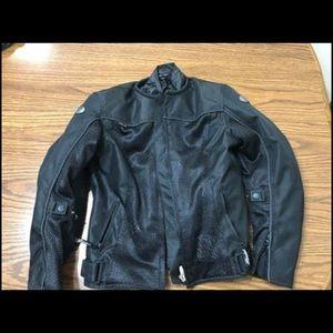 Woman Joe Rocket motorcycle jacket